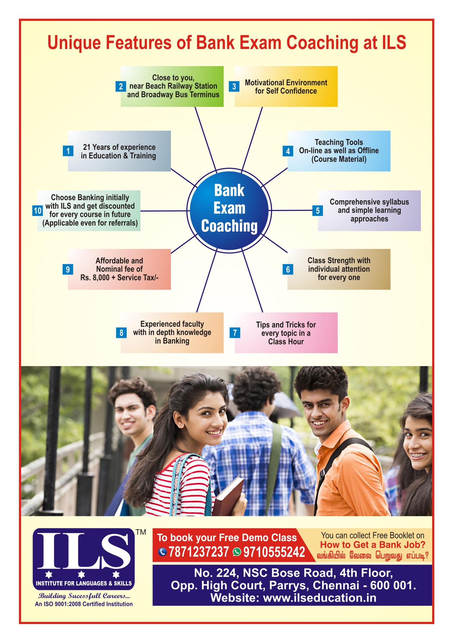 bank exams 2013 dates in chennai